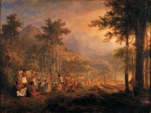 J. A. Gilfillan , A Native Council of War (1853)